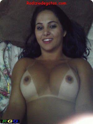 Morena linda no motel